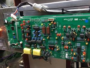 bo mạch máy dò kim loại